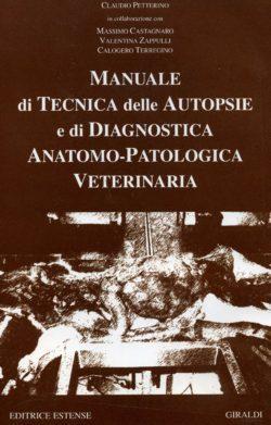 Copertina Petterino C Manuale di tecnica delle autopsie